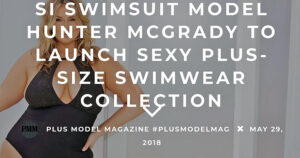 Swimsuit Model Hunter McGrady to Launch Sexy Plus-Size Swimwear Collection