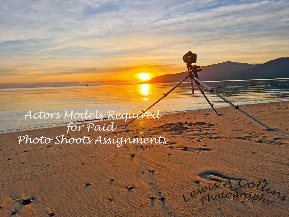 actors models required for paid photo shoots assignments